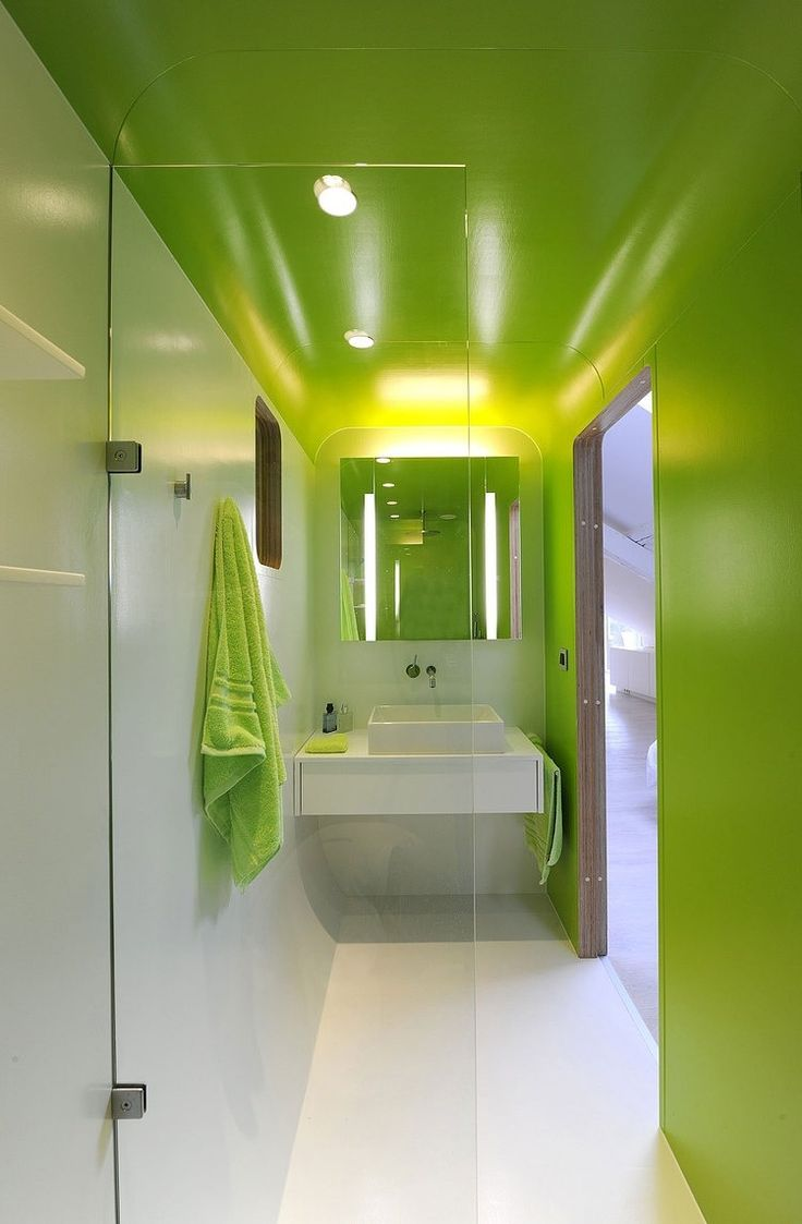 Lime green and white bathroom - 493 Best Interior Bathroom Images On Pinterest Bathroom Ideas Room And Architecture