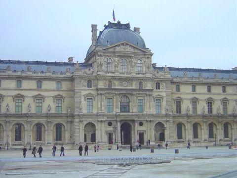 ルーブル宮殿  ルネサンス パリ