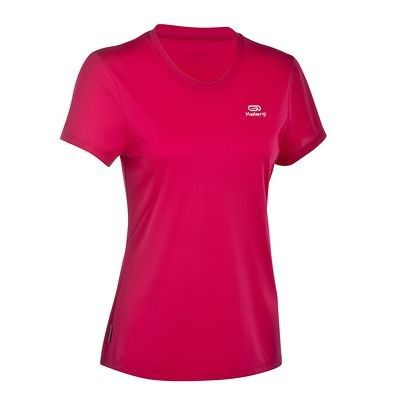 RUNNING_textil Running - Camiseta de manga corta de running de mujer Kalenji Ekiden rosa KALENJI - Running