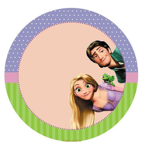 Resultado de imagen para etiquetas de rapunzel gratis