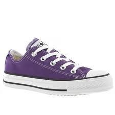 purple converse sneakers tennis shoes