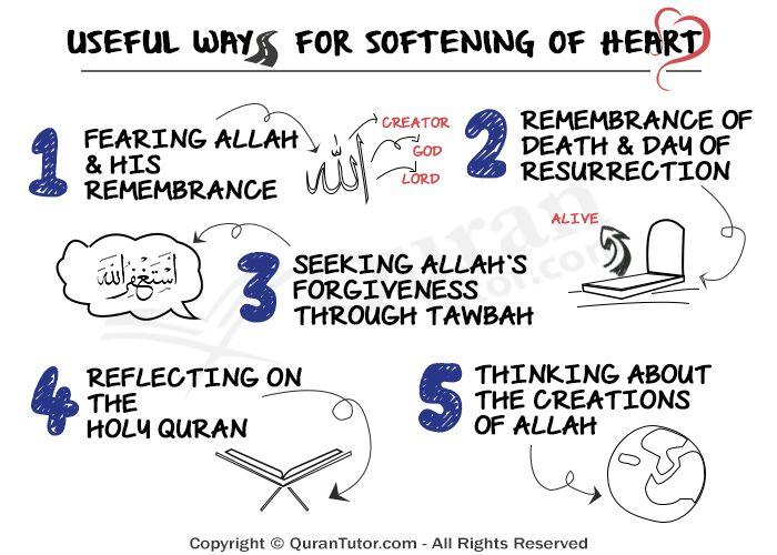 Five Useful Ways for Softening A Stiff Heart #islam