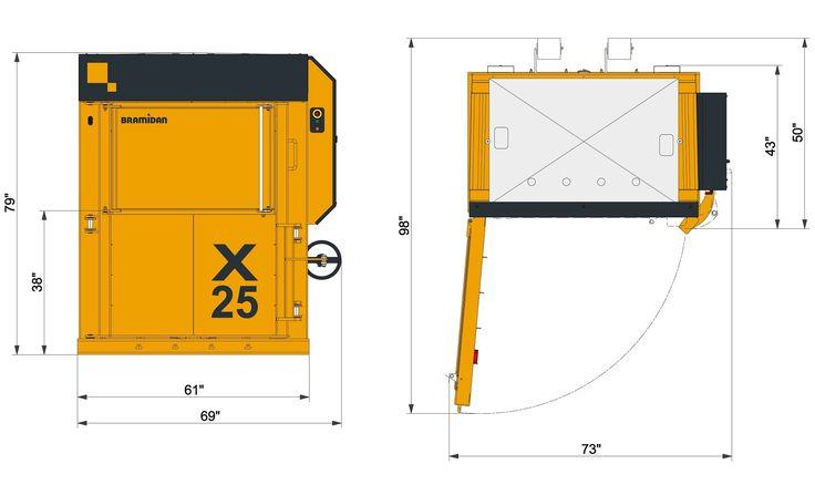 Make half mill size bales with Bramidan X25 HD vertical baler