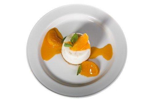 Чизкейк без запекания с марсалой и апельсинами