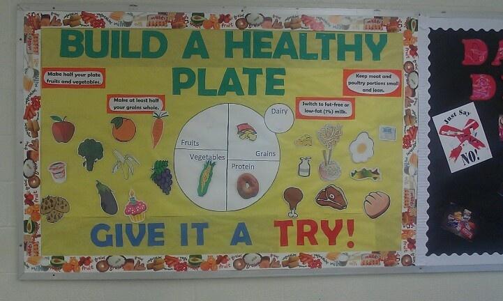 Classroom Bulletin Board Ideas Nutrition Month ~ Best ideas about kitchen bulletin boards on pinterest