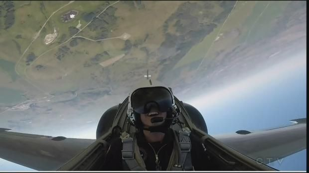 Flying in a fighter jetCTV Calgary News