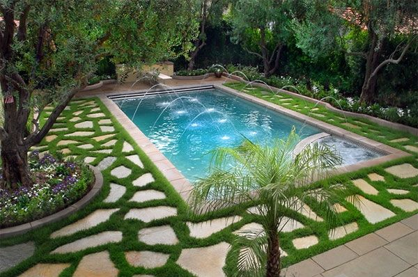 awesome 15 Swimming Pool Decks with Sensational Stone Pavers