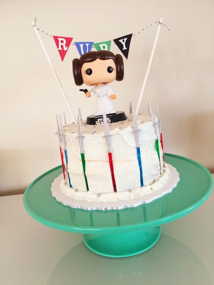 A Princess Leia Star Wars Cake