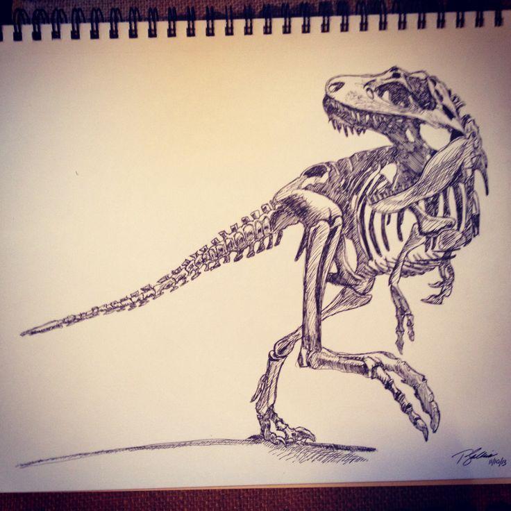 Raptor Skeleton Tattoo | www.pixshark.com - Images ...