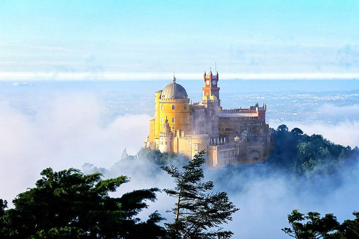 The mistic Sintra mountain...