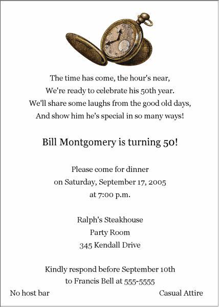 50th birthday invitations for men printable | Women S 50th Birthday Invitation Photo Collage Card Ladies - kootation ...