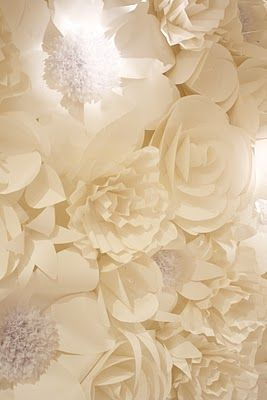 Paper rose wall. Check out supinere floral couture on Facebook, there is one even more fabulous than this. Available for rent in San Francisco area only.