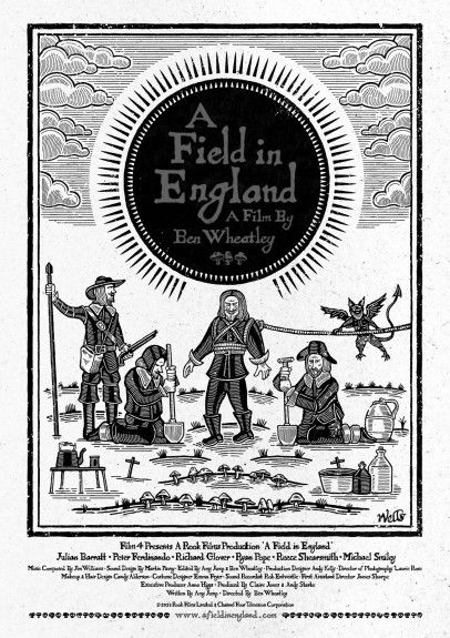 Day 73/365: A-FIELD-IN-ENGLAND-POSTER-Richard Wells