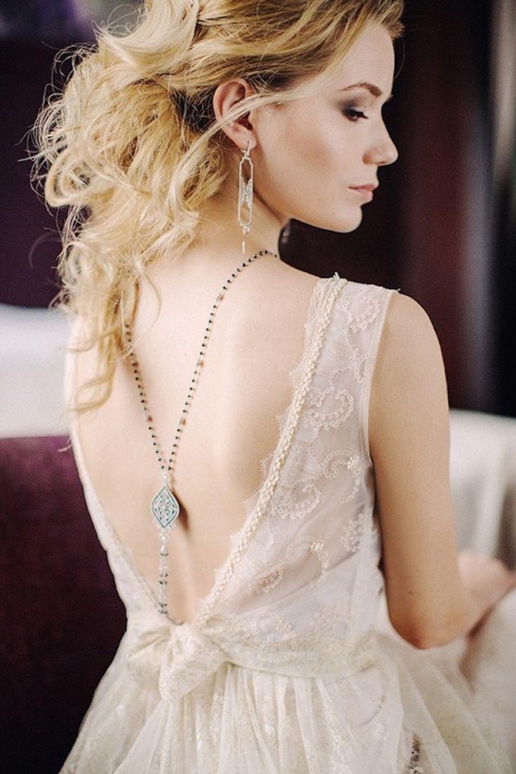 Восхитительно элегантный и поэтичный образ невесты.  #невеста #платье #украшение #образ #лук