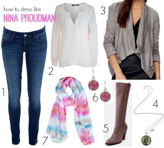 How to dress like Nina Proudman