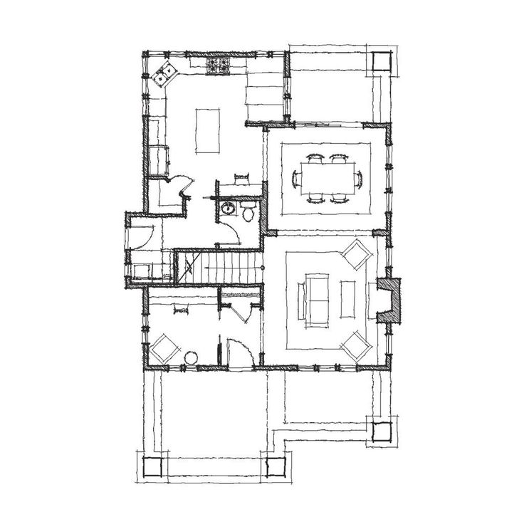 186 best House plans images on Pinterest House floor plans - bungalow floor plans