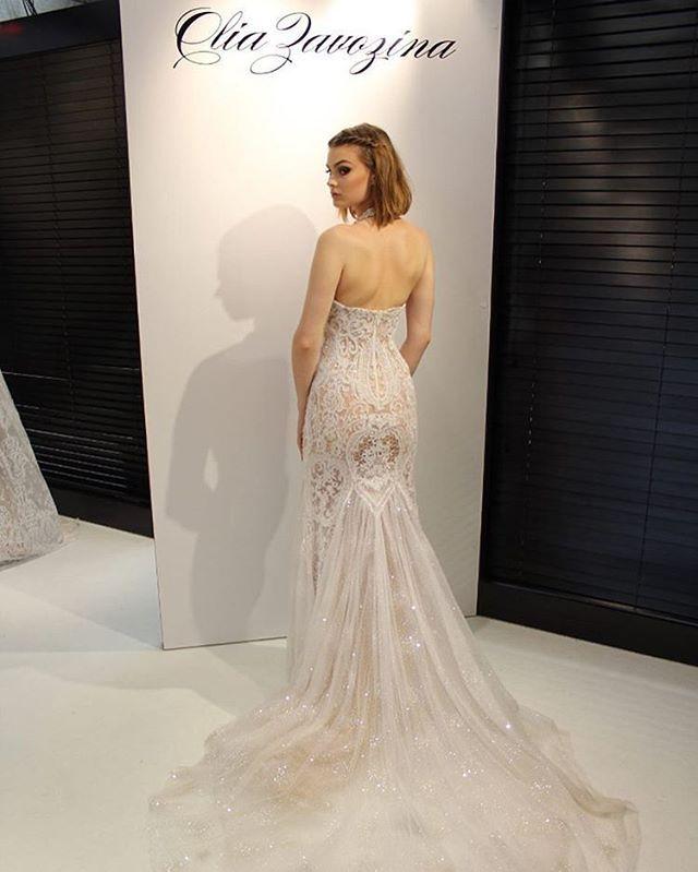 Olia Zavozina wedding gown