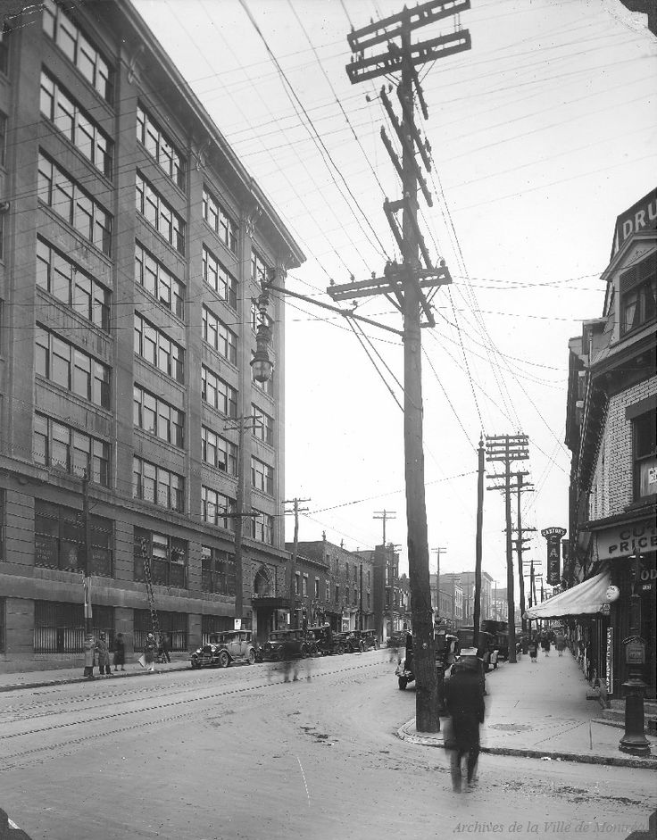St. Lawrence & Duluth looking North : Before / S.J. Hayward . - [192-?] - Archives de Montréal