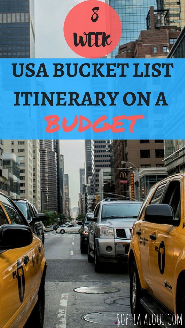Finally a budget travel itinerary for the