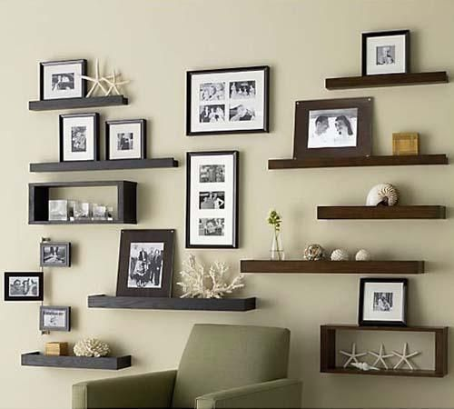 apartment decorating small spaces big ideas - Wall Shelves Design