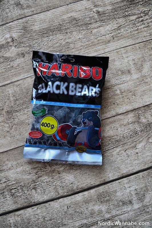 HARIBO Lakritz stark Blackbears Salmiak