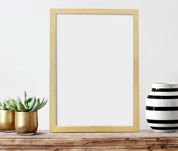 13x19 unfinished pine wood frame poster frame includes backing board saw tooth hangers