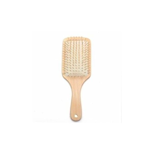 Wooden Vent Paddle Brush Keratin Care Massage Antistatic Hair Comb (135 UAH) ❤ liked on Polyvore featuring beauty products, haircare, hair styling tools, brushes & combs, white, hair comb, hair brush comb, brush comb and paddle brush