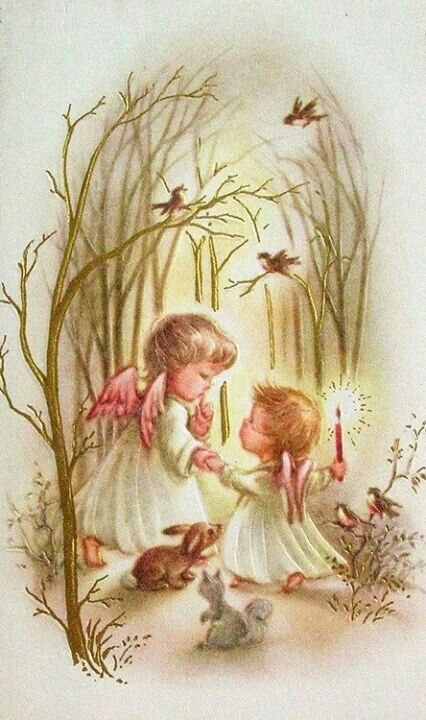 """Angels Surrounded by Love. Repinned by An Angel's Touch, LLC, d/b/a WCF Commercial Green Cleaning Co., """"Denver's Property Cleaning Specialists"""" http://angelsgreencleaning.net"""