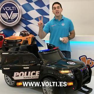 Coche POLICIA para niños de venta en España en 🇪🇸WWW.VOLTI.ES🇪🇸 #cochepolicia #policianacional #policia #police #guardiacivil #municipales #guardia #agente #agentedepolicia #comisaria #volti #ley #niños #niñospolicianacional #niñosfelices #ejercitoespañol #ejercitotierra #procteccioncivil #bebés #bebes #luxurycar #luxurytoys #luxurylife #volti #cocheselectricos #patrulla #patrullapolicial #fuerzasarmadas #fuerzasespeciales
