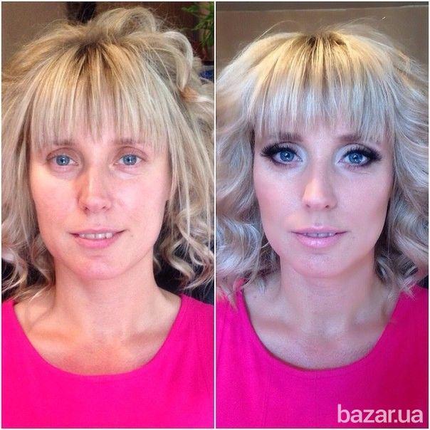 Качественно с учетом индивидуальных особенностей и формы Вашего лица выполню: Дневной макияж - 200 грн. Вечерний макияж (Smoky-Eyes (дымчатый...