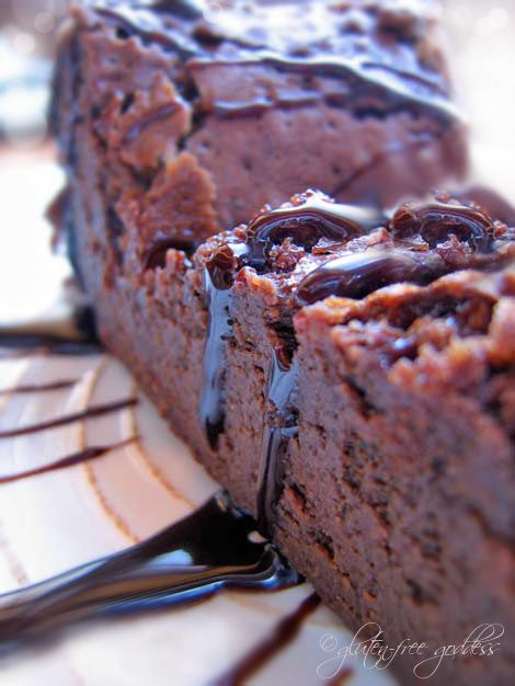 Beyond rich, this Chocolate Truffle Cake recipe developed by Karina, is beautiful, and decadent. And gluten-free.