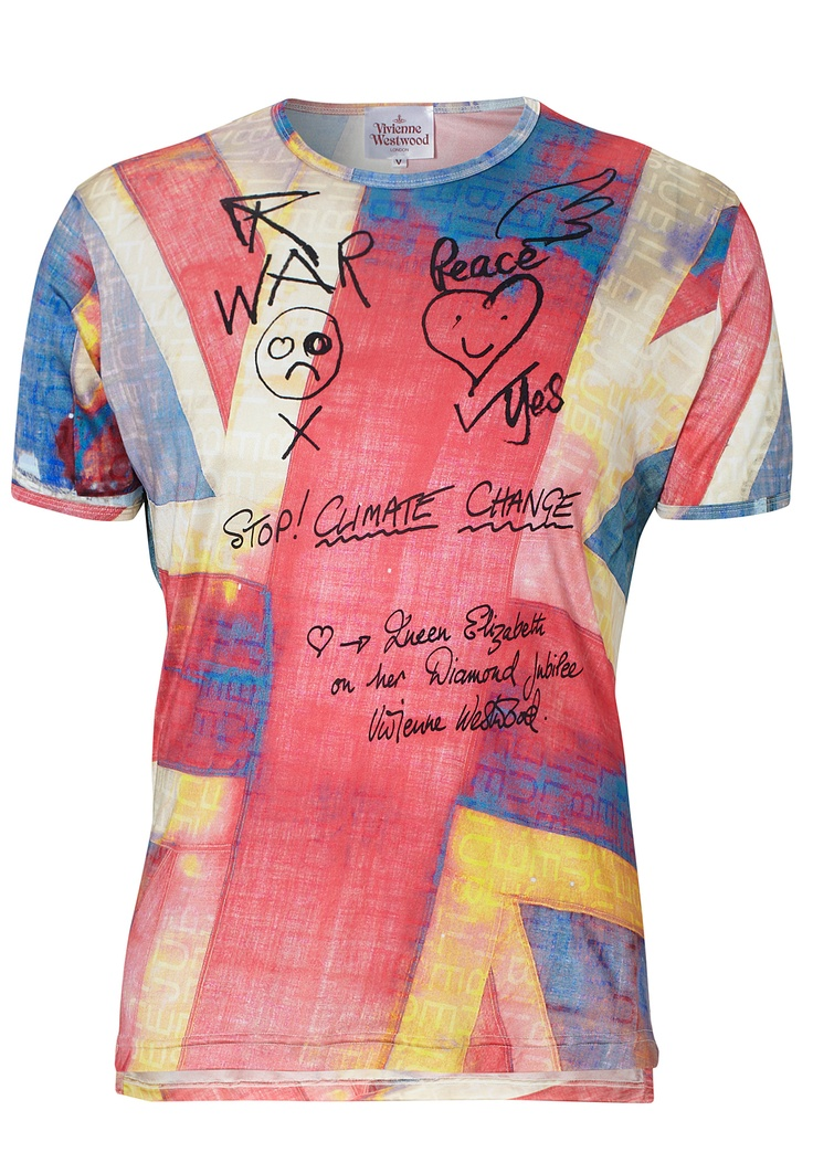 Union Jack Jubilee T-Shirt(Vivienne Westwood)... you would. Get it gwarl... and then give it to me.