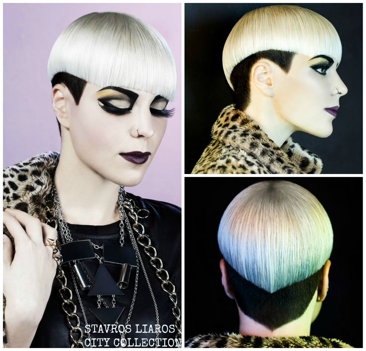 #hair #haircut #style #glam #punk #fashion #hairstyle #look #collection #beauty #editorial #lovely #undercut #mup #blond #style #new #trends