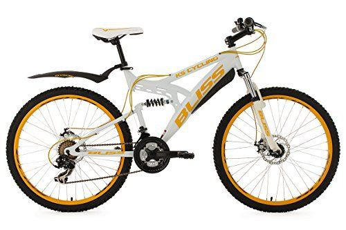 KS Cycling Bliss VTT tout suspendu Blanc 26″ 47 cm: Plongez dans l'aventure du VTT avec le BLISS de KS Cycling Ce semi-rigide de 26″ est…