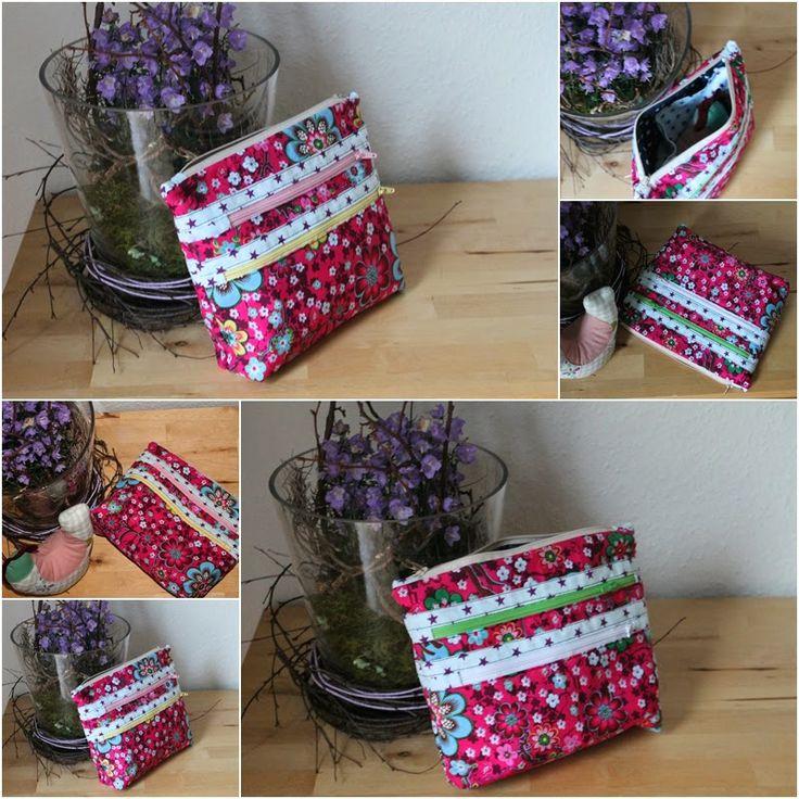 Ordnungshelfer by die hüglige, pattern by farbenmix.de #sewing #handmade #patterns #nähen #taschen #bags