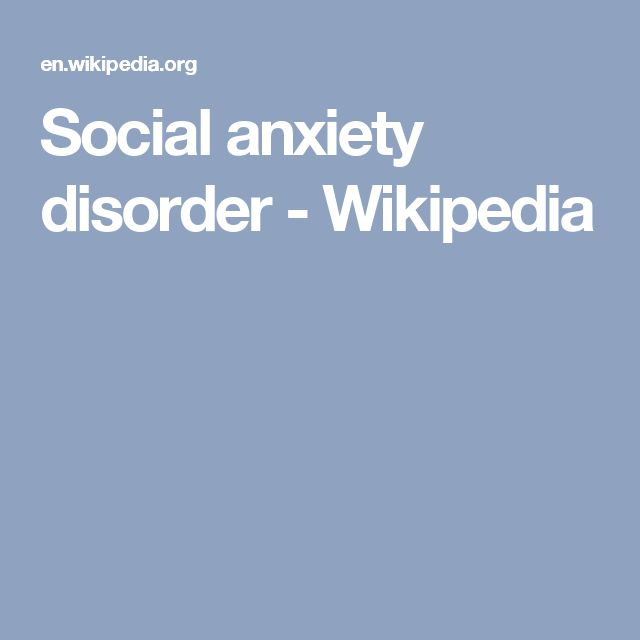 how to stop social anxiety disorder