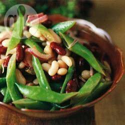 Three Colour Bean Salad @ allrecipes.com.au