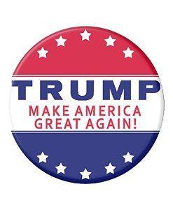 Donald Trump Campaign Button