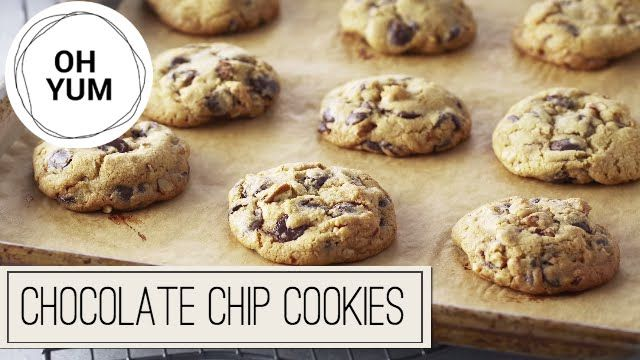 Classic Chocolate Chip Cookies | Oh Yum with Anna Olson - YouTube