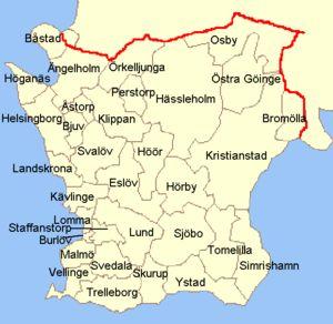 "Wikipedia contributors, ""Skåne County,"""