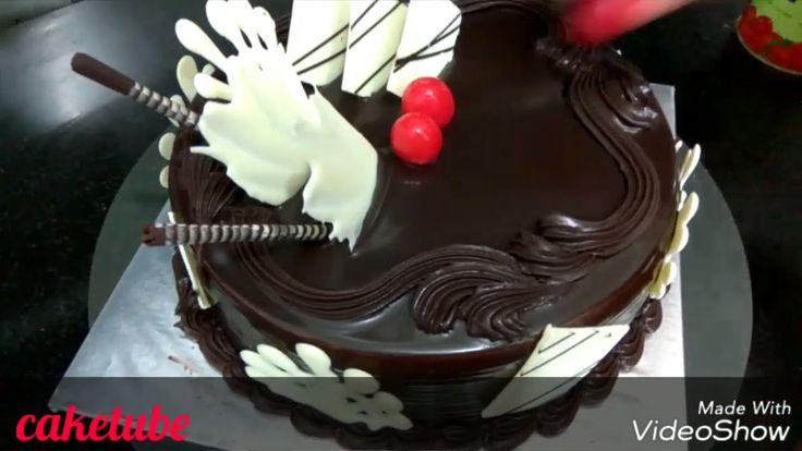 Die besten Schokoladenkuchen Rezept hausgemachte Schlagsahne Choclate Ganache Kuchen Glasur …