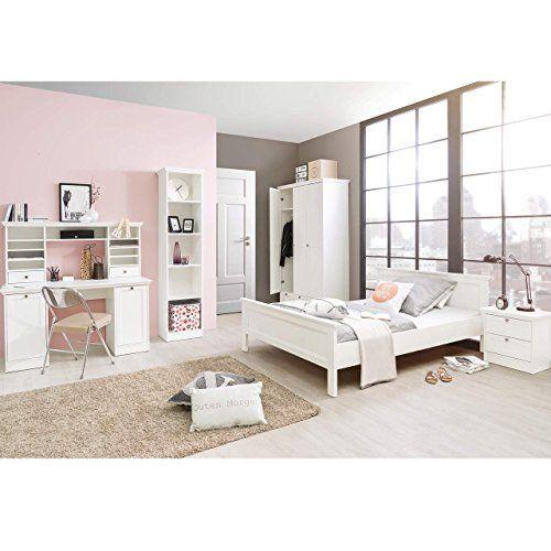 STOCKHOLM Mädchenzimmer Jugendzimmer Komplettset In Weiß ...  Https://www.amazon