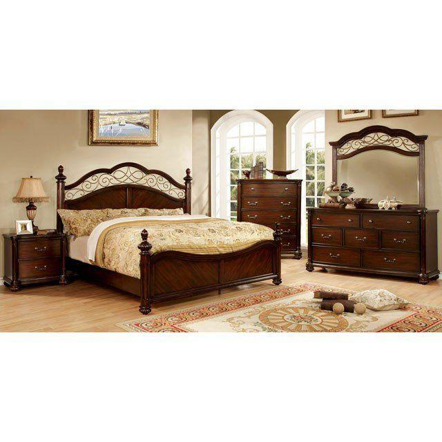 Furniture Of America Moab 4 Piece Bedroom Set Las Vegas ...