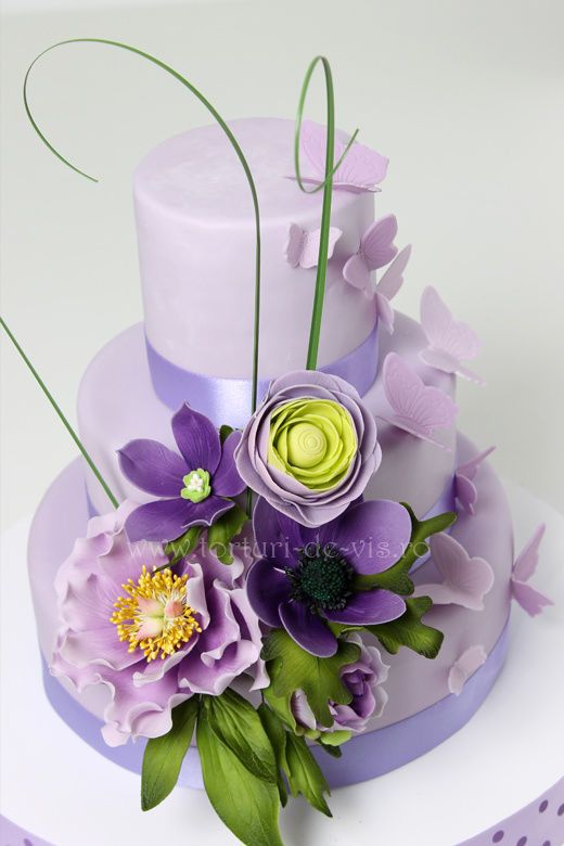 Symphony in Purple Cake