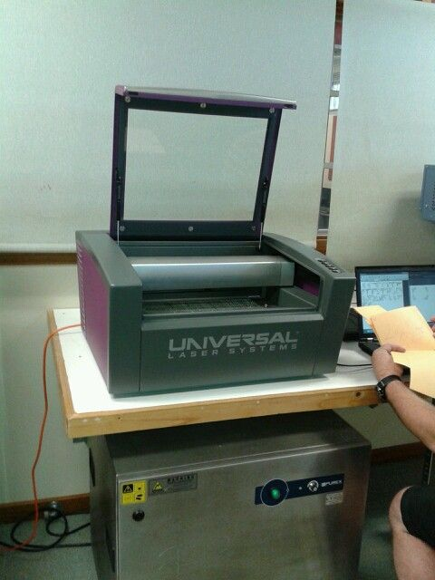 & a laser cutter of course!