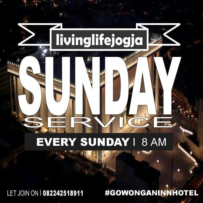 Jogja! let join us on Sunday Service