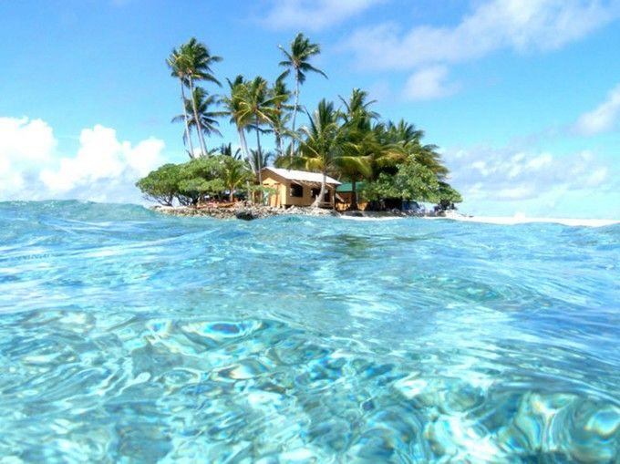 世界の絶景第1位!ジープ島