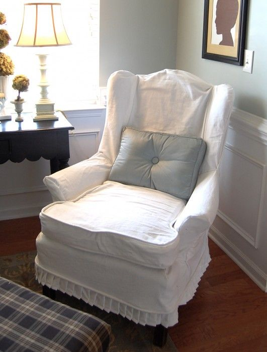 87 Best Images About Slipcovers Diy On Pinterest Chair