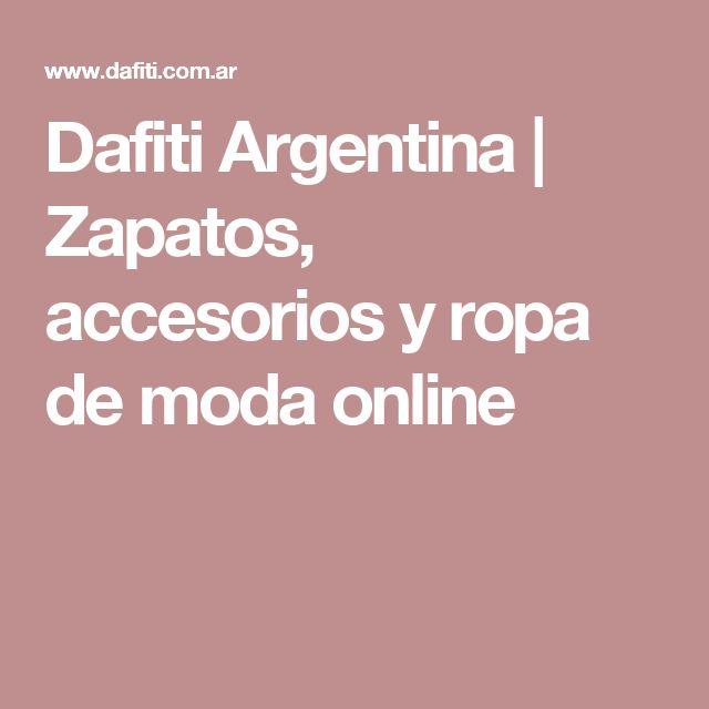 Dafiti Argentina | Zapatos, accesorios y ropa de moda online