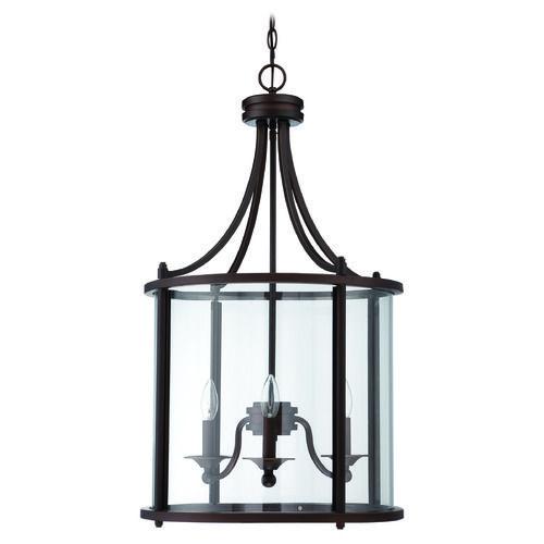 Craftmade Carlton Aged Bronze Pendant Light | 39533-ABZ | Destination Lighting